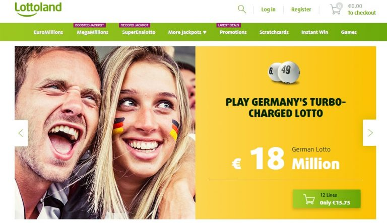 Сайт Lottoland
